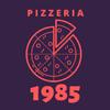 Pizzeria 1985 - Edinburgh Logo